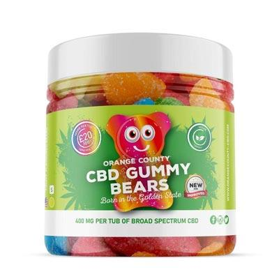 Orange County CBD Gummies 1200mg