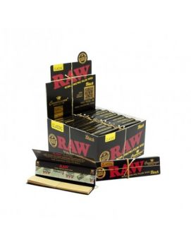 Raw Black 1 1/4 Connoisseur