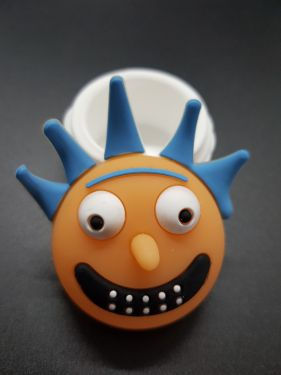 Rick And Morty Squanch Silicone Tub
