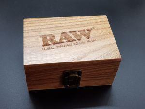 Raw Wooden Roling Box