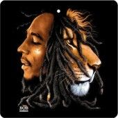 Bob Marley With Lion Wall Hanging 3' x 4'
