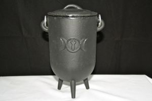 Nemasis, Cast Iron Cauldron (large)