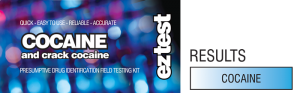 EZtest Cocaine 10 test kit