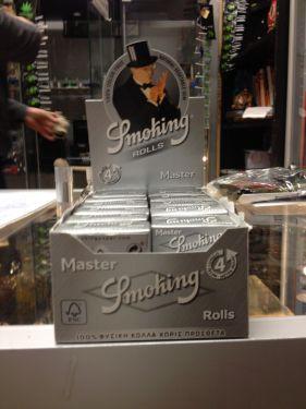 Smoking Silver Master Rolls