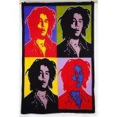 Bob Marley 7' x 5' FT Rasta