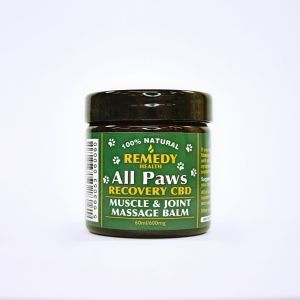 All Paws Recovery Muscle & Joint Massage Balm 600mg