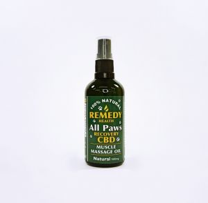 All Paws Recovery Massage Oil 500mg