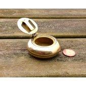 Brass Pocket Ashtray Small
