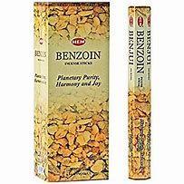 Benzoin 6 pack Hem Incense Sticks