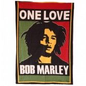 Bob Marley Bed Cover One Love 7' x 5'