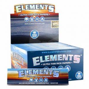 Elements Kingsize Slim Full Box