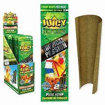 Juicy Jay Hemp Tropical Passion Full Box