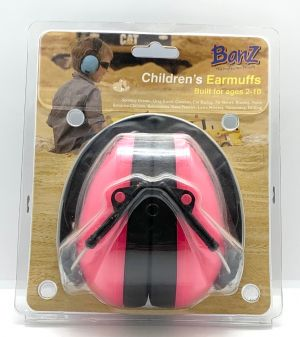 Pink Childrens Ear Protectors