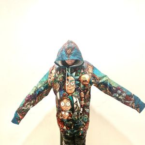 Rick and Morty Collage 4XL hoodie