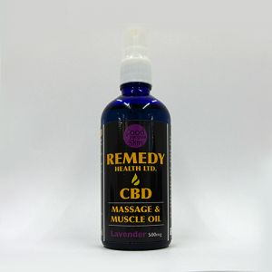 Lavender Massage and Muscle CBD Oil 100ml 500mg