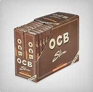 OCB Slim Unbleached Kingsize Full Box