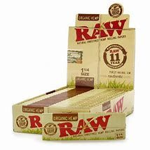 Raw Organic Hemp 1 1/4