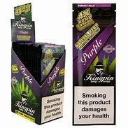 Kingpin Hemp Wraps Purple Full Box