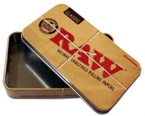 RAW Tin Tobaco Case