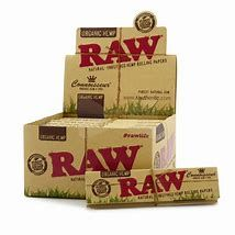 Raw Organic Hemp Connoisseur Kingsize Full Box