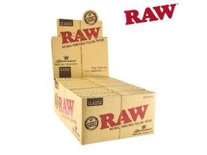 RAW Classic Connoisseur with Pre-rolled Tips