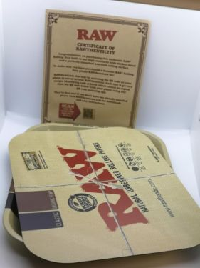 Raw Magnetic Rolling Tray Cover XXL