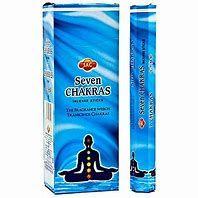 7 Chakras 6 pack Hem Incense Sticks