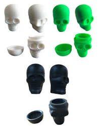 Silicone Dab Pot- Skull
