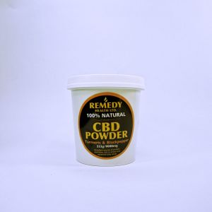 Turmeric & Black Pepper 250gm, 9000mg CBD Powder