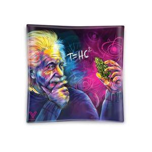 Einstein T=HC2 Shatter Resistant Glass ashtray 1