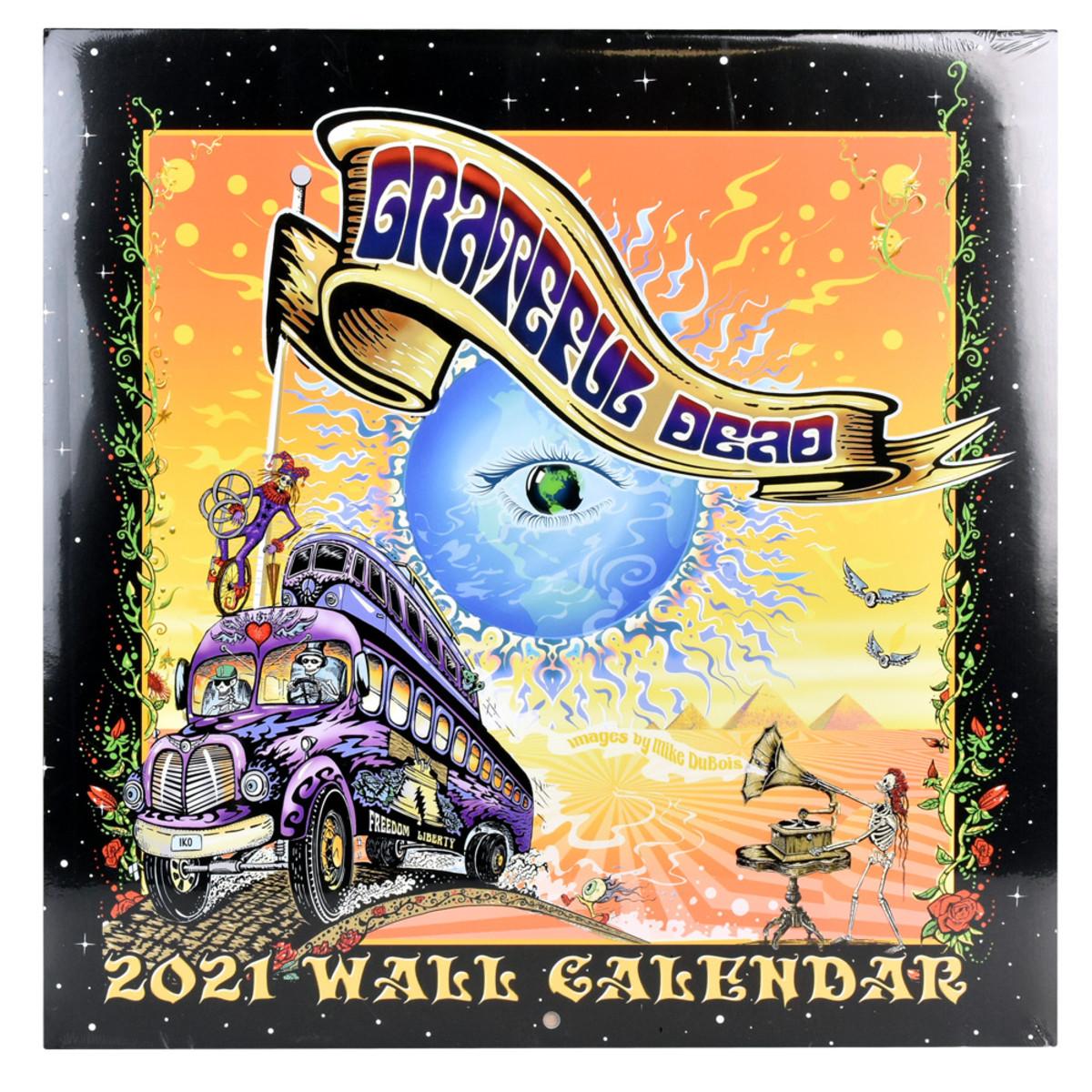 Grateful Dead 2021 Wall Calendar | 12